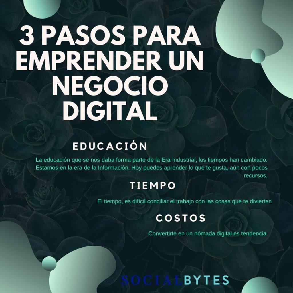 ¿Cómo emprender tu negocio digital?