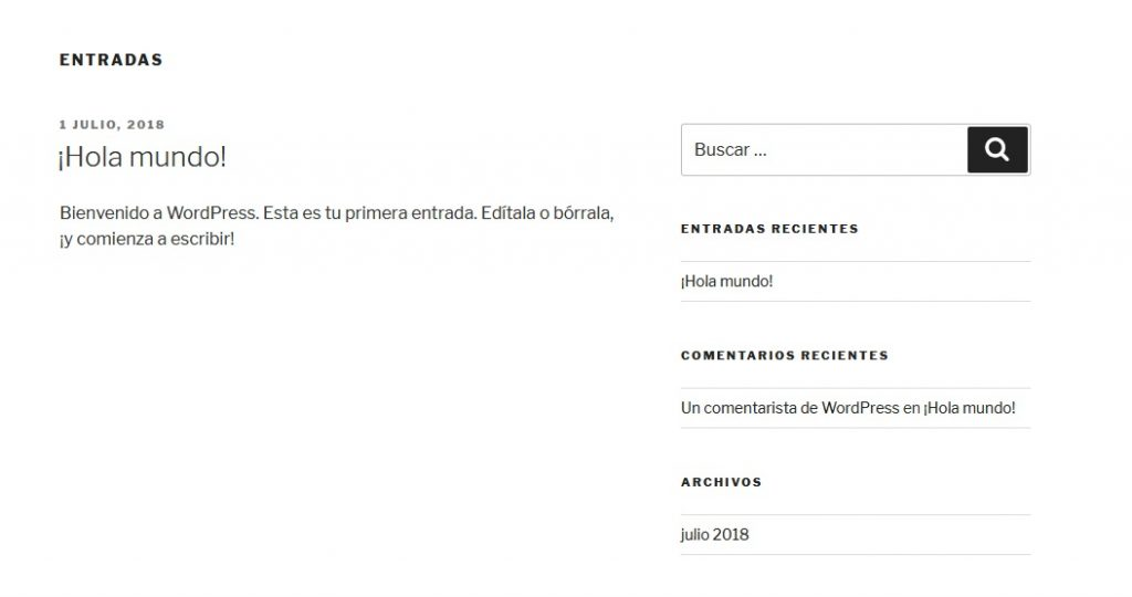 Instalacion WordPress en un USB