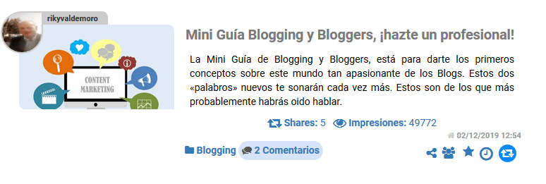 Feliz segundo año bloggero
