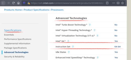 especificaciones microprocesador