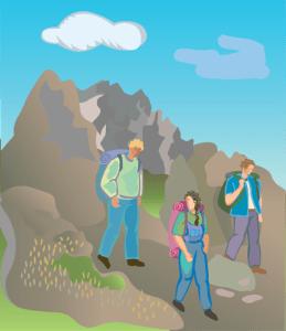 Peregrinas sostenibles viajando con los pies